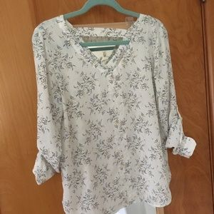 Loft Outlet Floral Top, Small
